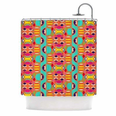 Summer Fun Treal Shower Curtain