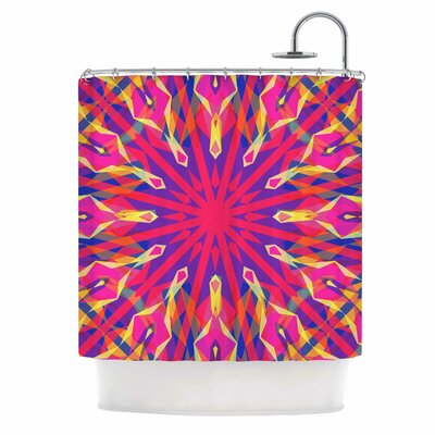 Whirling Shower Curtain