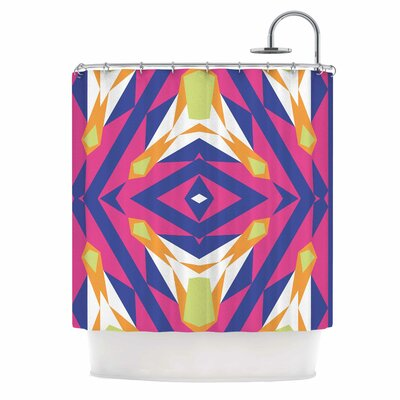 Tulip Tribal Shower Curtain