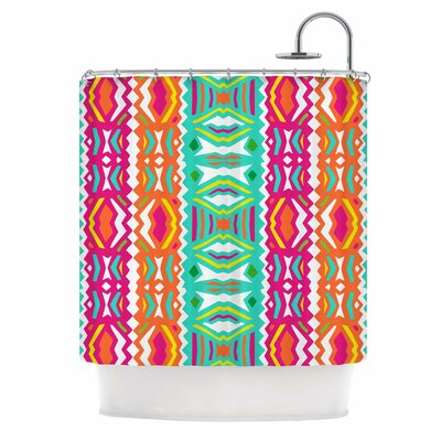 Ethnic Summer Shower Curtain