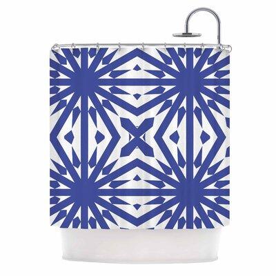 Delftsch Blue Tulips Shower Curtain