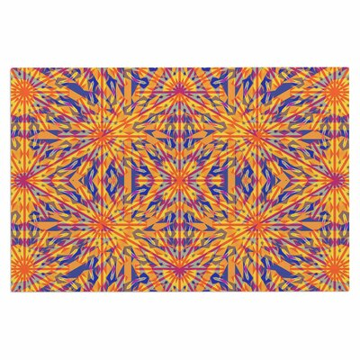 Azulejo Orange Doormat