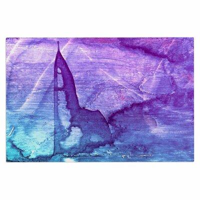 Blues Abstract Series 2 Doormat