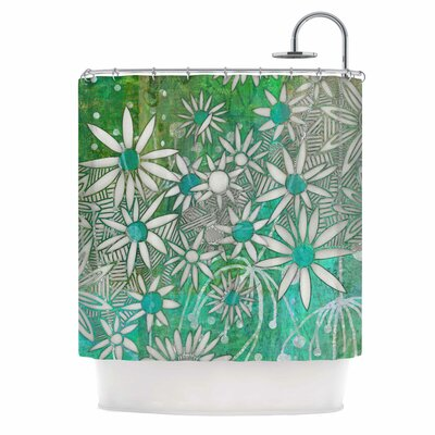 Spring Daisies Shower Curtain