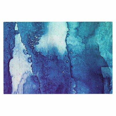 Blues Abstract Series 1 Doormat