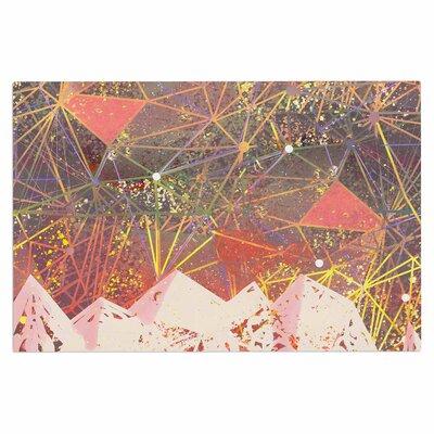 Pink Space Mountain Doormat