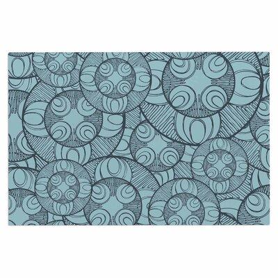 Layered Circles Design Doormat