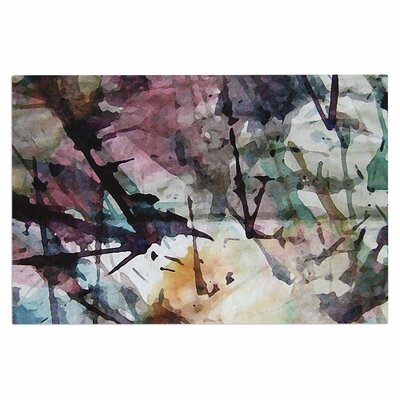 Abstract Trees Doormat