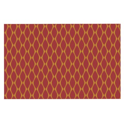 Doormat Color: Marsala/Mustard/Red