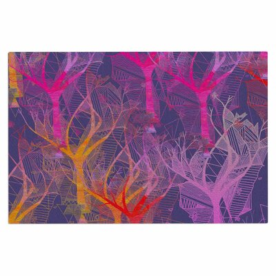 Colorful Trees Doormat