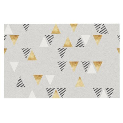 Triangle Love Doormat