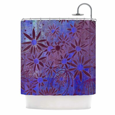 Purple Night Shower Curtain