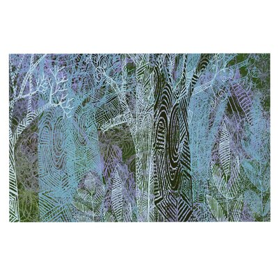 Wild Forest Trees Decorative Doormat