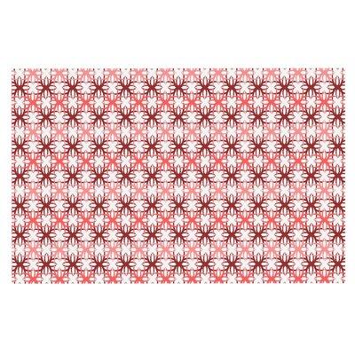 Motifs Doormat Color: Red/Pink