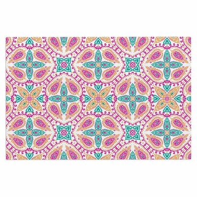 Boho Doormat Color: Pink