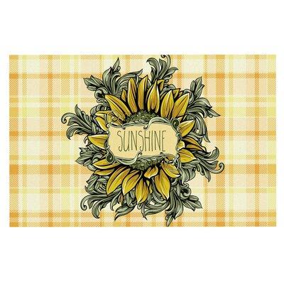 Sunflower Sunshine Doormat