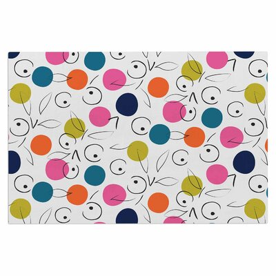 Colorful Polka Berries Doormat