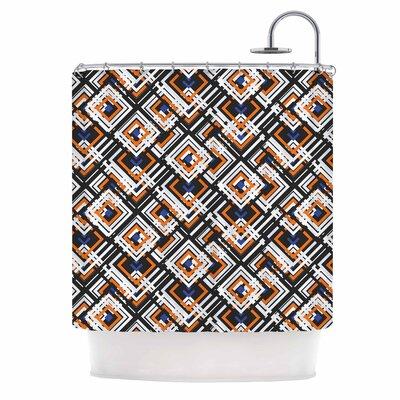 Jumbled Digital Shower Curtain