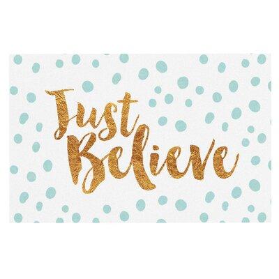 Just Believe Doormat