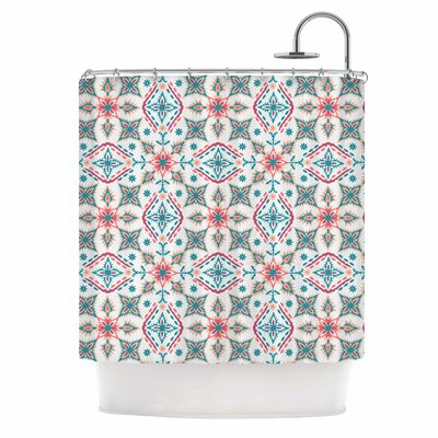 Moroccan Beauty Ethnic Arabesque Shower Curtain