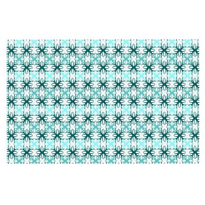 Motifs Doormat Color: Aqua/Blue