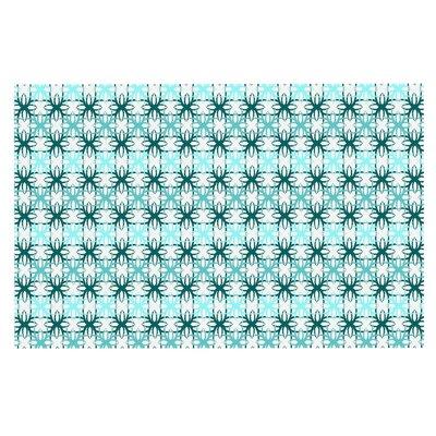 Motifs Doormat Color: Aqua/Blue