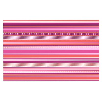 Pink Ribbons Blush Decorative Doormat