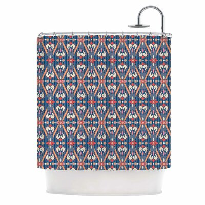 Beautiful Border Ethnic Arabesque Shower Curtain