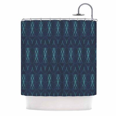 Threads Illustration Shower Curtain