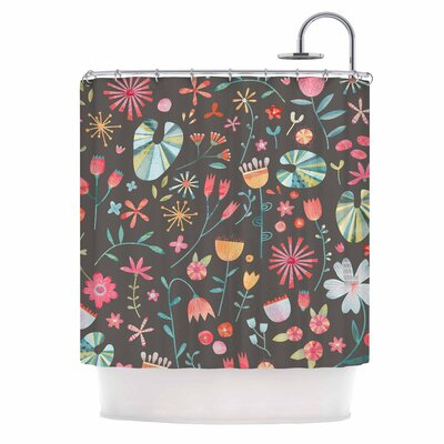 Wayside Flowers Shower Curtain