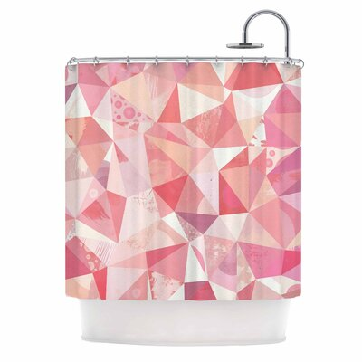Crumpled Shower Curtain
