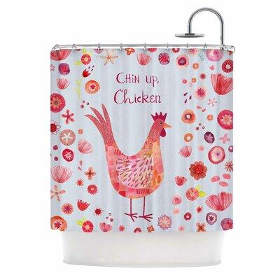 Chin Up, Chicken Shower Curtain
