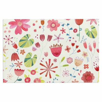 Pressed Wildflowers Doormat