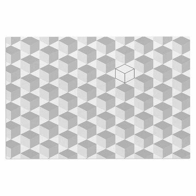 Greyscale Cubed Doormat