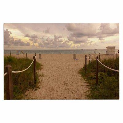 Walkway to Heaven Coastal Photography Decorative Doormat