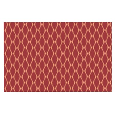 Doormat Color: Marsala/Peach/Red