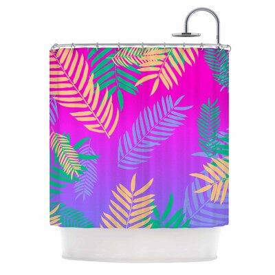 Tropical Cocktail Art Deco Pop Art Shower Curtain