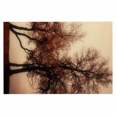 Rust Trees Photography Nature Decorative Doormat
