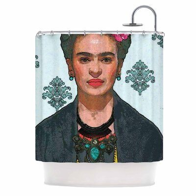 Frida Kahlo-Trendy V2 Shower Curtain