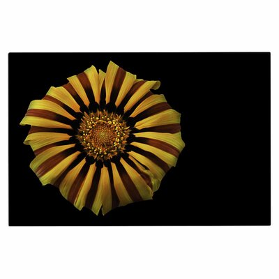 Red and Yellow Flower Doormat