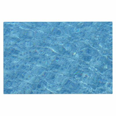 Calm Blue Pool Water Doormat