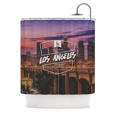 Los Angeles Ll Shower Curtain