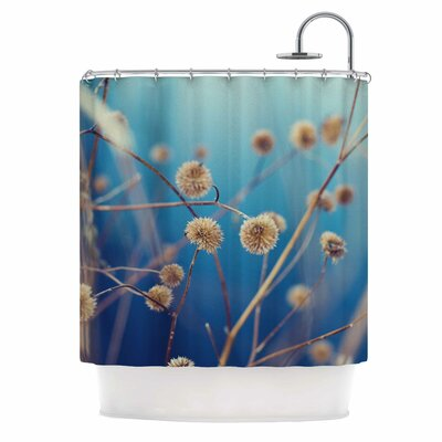 Blue Serenity Photography Shower Curtain