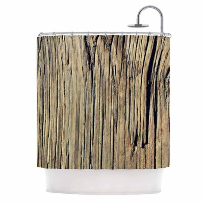 Tree Bark Pattern Photography Shower Curtain
