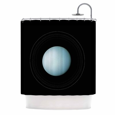 'Uranus' Shower Curtain