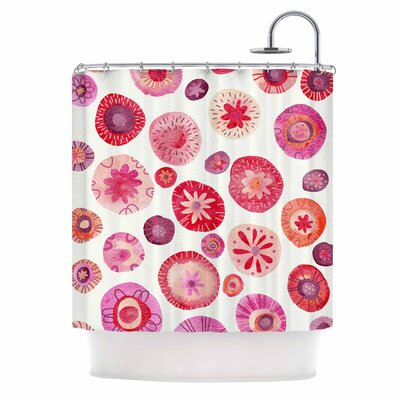 All the Flowers Shower Curtain