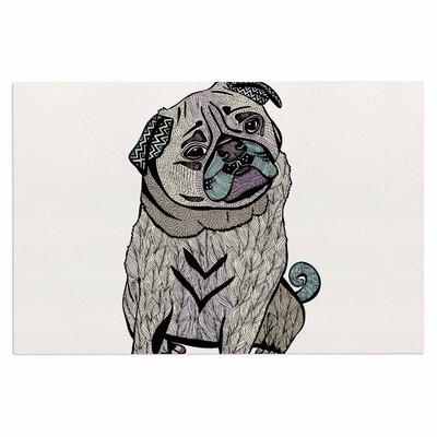 Ares the Pug Doormat