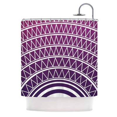 Portal Shower Curtain Color: Amethyst