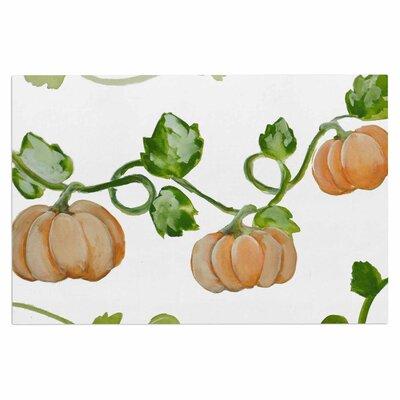 Trio of Fall Pumpkins Doormat