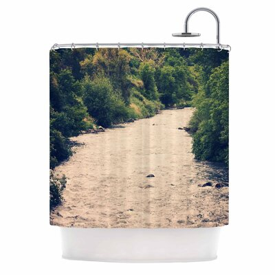 Cold Stream Photography Shower Curtain
